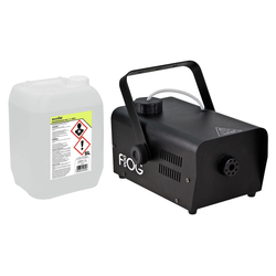 Involight FOG 900 Nebelmaschinen Set inkl. Smoke Fluid, 5L