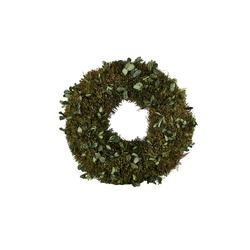 Kranz ¦ grün ¦ Naturprodukte ¦ Maße (cm): H: 4 Ø: [25.0]