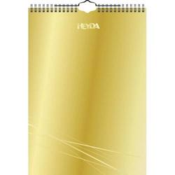 Kreativkalender Chromolux A4 gold