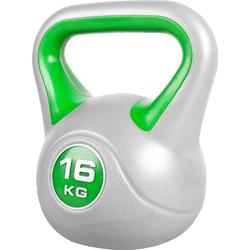 GORILLA SPORTS Kettlebell Kettlebell Stylish Kunststoff 16 kg, 16 kg