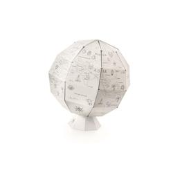 Mein erster Globus - Papier Globus zum Ausmalen, Ø ca. 26 cm