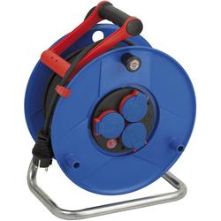 Kabeltrommel Garant IP44, Durchmesser 290mm, Spezialkunststoff,3 x 230V Steckdose, 50m