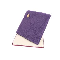 Licardo Sitzkissen Sitzkissen Stuhlkissen 2er Pack Wolle 37 x 40 cm lila