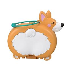 Mattel® Sammelfigur Polly Pocket Corgi-Hundehotel Schatulle