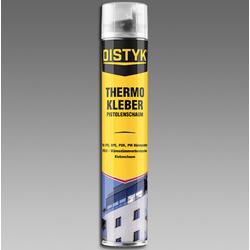 Thermo Kleber Pistolen- und Montageschaum 750 ml gelb