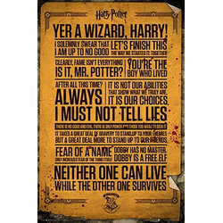 GB eye Poster Harry Potter – Quotes – Maxi Poster