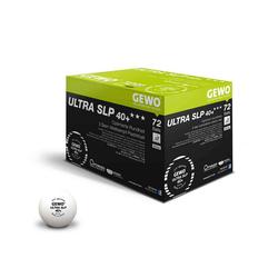Gewo Tischtennisball GEWO Ball Ultra SLP 40+ *** 72er