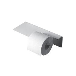 Radius Toilettenpapierhalter Radius Puro Toilettenpapier Halter weiss WC-Papierhalter 906 B