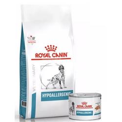 ROYAL CANIN Dog Hypoallergenic 14 kg + 20 x Hypoallergenic 200g