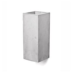 Kiom Wandleuchte Beton-Wandleuchte Guro hellgrau H: 25 cm
