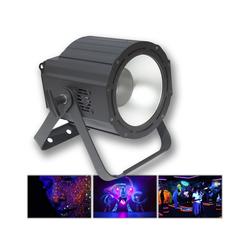 SATISFIRE Discolicht UV COB Cannon - Hochleistungs Schwarzlichtfluter 100W - DMX - flickerfrei