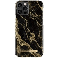 IDEAL OF SWEDEN Fashion Case, Backcover, Apple, iPhone 12 / Pro, Golden Smoke Marble