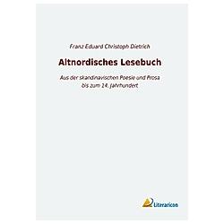 Altnordisches Lesebuch - Buch