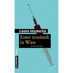 Enter ermittelt in Wien als Buch von Claudia Rossbacher