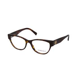 Versace VE 3287 108, inkl. Gläser, Cat Eye Brille, Damen