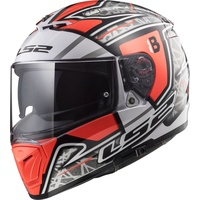 LS2 FF390 Breaker Challenge Hector Barbera  Replica red/white/black