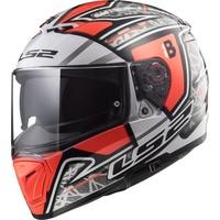 LS2 FF390 Breaker Challenge Hector Barbera  Replica red/white/black