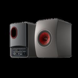 KEF KEF LS50 Wireless II - Titanium Grey/Red - Set - Titanium