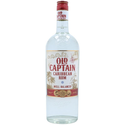 Old Captain White Rum 1,00L (37,50% Vol.)