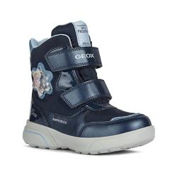 Geox Stiefeletten für Mädchen Stiefelette blau 32