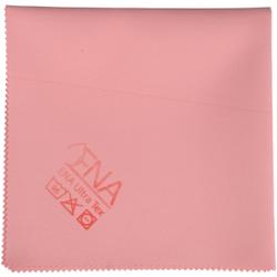 ENA Ultra Tex PU Tuch, 38 x 37 cm, Putztuch für die fusselfreie Reinigung, 1 Packung = 5 Tücher, rot
