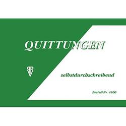 Formularbuch 4100 Quittung, MwSt. separat ausgewiesen