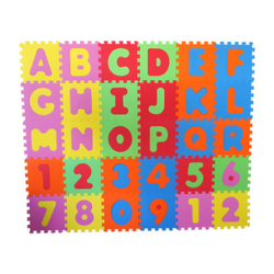 knorr® toys Puzzlematte Alphabet und Zahlen, 36-tlg.