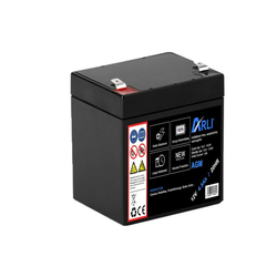 ARLI AGM Blei Akku 12V 4,5Ah 20HR Batterie Glasfaservlies Bleiakku Accu Battery Bleiakkus 4500 mAh (12 V, 1 St)