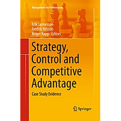Strategy  Control and Competitive Advantage - Buch