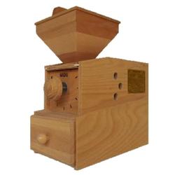 WIDU Getreidemühle Widukind Model I Elektrobetrieben Buchenholz