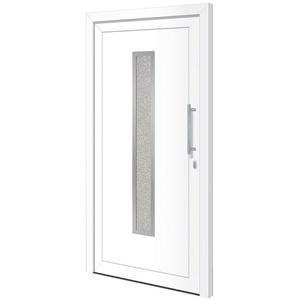 RORO Türen & Fenster Haustür Otto 16, BxH: 100x210 cm, weiß, ohne Griff