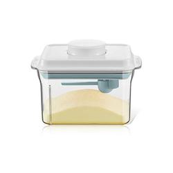 kueatily Aufbewahrungsbox Milchpulver-Aufbewahrung, Milchpulver-Box, Baby-Aufbewahrungsbox, Milchpulver-Spender mit Schaber und Löffel, Aufbewahrungsbox Baby-Food-Aufbewahrung für Getreide, Lebensmittel, Obst, Snacks 17.5 cm