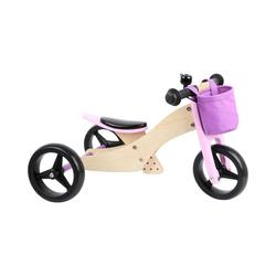Small Foot Laufrad Laufrad-Trike 2 in 1 Rosa 9.4 Zoll