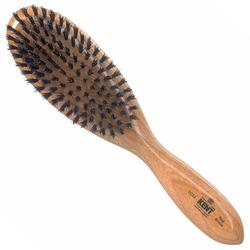 KENT Ovale Haarbürste aus Kirschholz