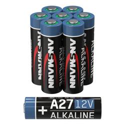ANSMANN® A27 12V Alkaline Batterie Spezialbatterie - 8er Pack Batterie