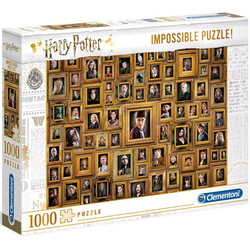 Clementoni® Puzzle Impossible Collection - Harry Potter, 1000 Puzzleteile, Made in Europe