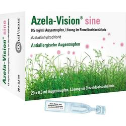 Azela-Vision sine 0.5mg/ml Augentropfen i.Einzeld.