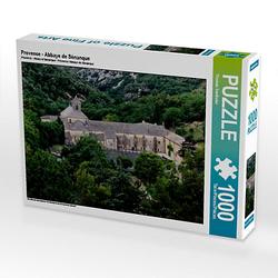 Provence - Abbaye de Sénanque Lege-Größe 64 x 48 cm Foto-Puzzle Bild von Thomas Seethaler Puzzle