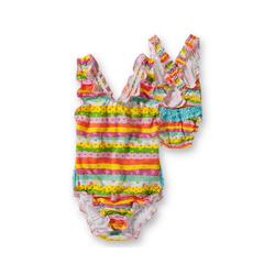 Fashy Badeanzug FASHY Baby Windel Badeanzug, bunt bunt 74/80
