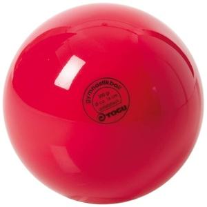 TOGU Unisex – Erwachsene Gymnastikball Standard Unlackiert, Rot, 16