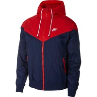 Windrunner Jacke M midnight navy/university red/midnight navy S