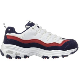 SKECHERS D' Lites - Sure Thing white-red-navy/ white, 39