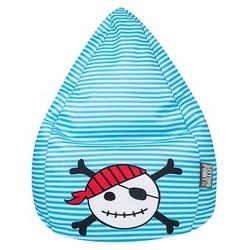 SITTING POINT Pirat XL Sitzsack blau