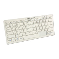 LC-POWER LC-KEY-BT-1W Tastatur DE weiß