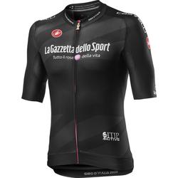 Castelli Schwarzes Trikot Race Giro d'Italia 2020 - Herren Black S