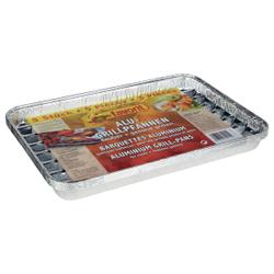 Favorit Aluschale, Sauber und gesund Grillen mit der Einmalgrillpfanne, 1 Packung = 5 Stück