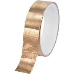 TRU Components CFT-25/10M 1564013 Kupferklebeband CFT-25 Kupfer (L x B) 10m x 25mm 10m