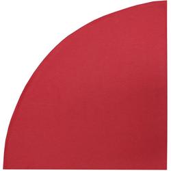 HOSSNER - HOMECOLLECTION Tischdecke 322 Ventura (1-tlg) rot rund - Ø 170 cm