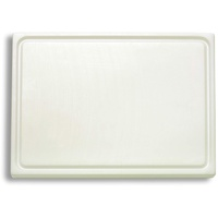 Friedr Dick DICK (Kunststoffschneidbrett, weiß, 265x325x18 cm, beidseitig verwendbar, HACCP) 91265000
