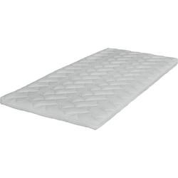 Matratzenauflage, Breckle, mit Gelschaum 80 cm x 200 cm